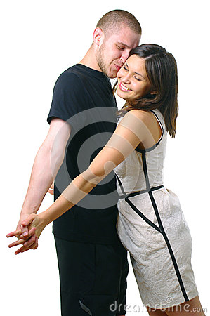 Happy smiling attractive couple