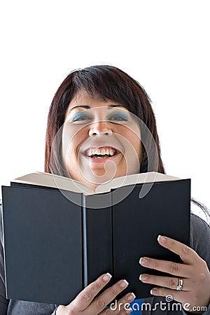 Happy Smiling Book Reader