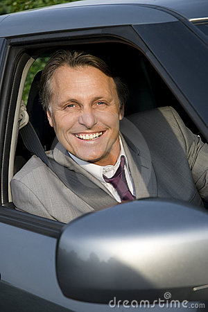 Free Happy Smiling Businessman. Royalty Free Stock Image - 9754916