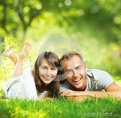 Free Happy Smiling Couple Together Stock Image - 32873211