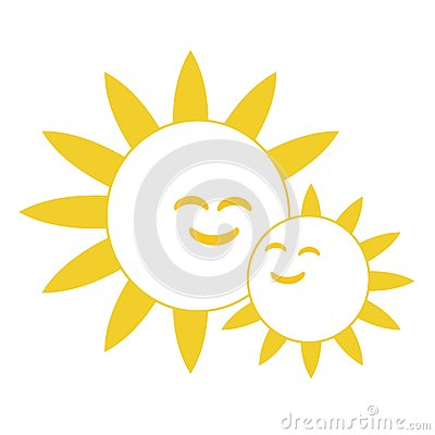 Happy Smiling Suns