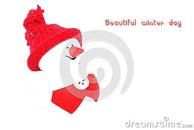 Happy Snowman.