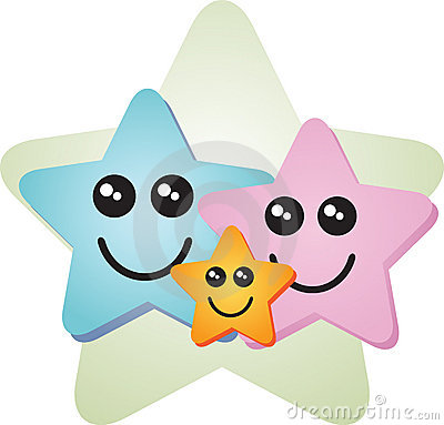 Happy special star family