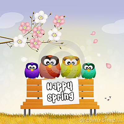 Image result for spring owls