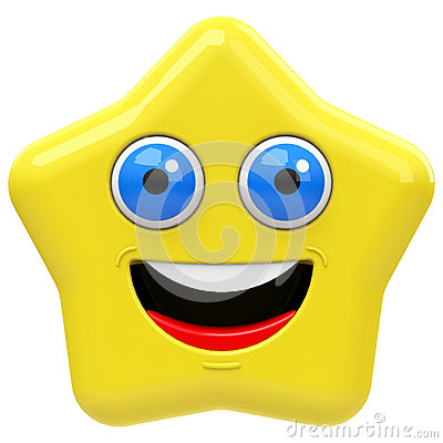 The happy star