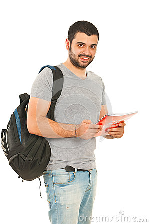 Free Happy Student Man Royalty Free Stock Photos - 28328388