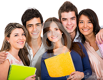 Happy Students Stock Images - Image: 25241554