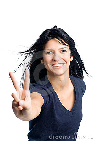 Free Happy Successful Latin Girl Royalty Free Stock Photography - 14184787