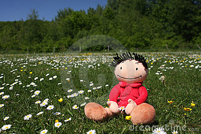 Happy summer doll