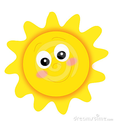 Happy Sun Royalty Free Stock Photography - Image: 24547897