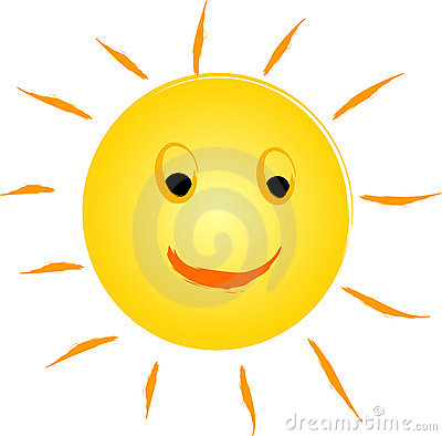 Free Happy Sun Logo Royalty Free Stock Images - 14994569