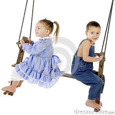 Happy Swinger, Worried Swinger