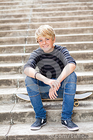 Free Happy Teen Boy Royalty Free Stock Images - 24783359