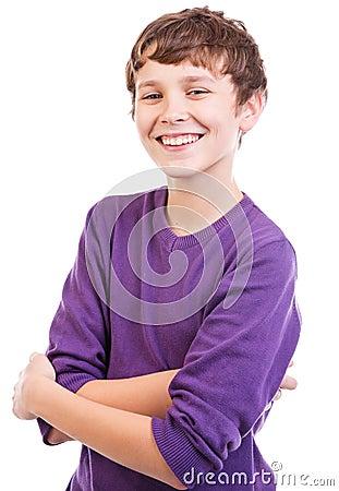 Happy teen portrait