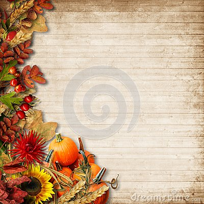 Free Happy Thanksgiving Card. Autumn Background Royalty Free Stock Images - 101722179