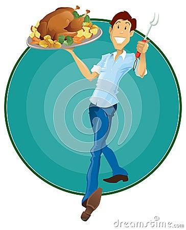 Happy Thanksgiving Man