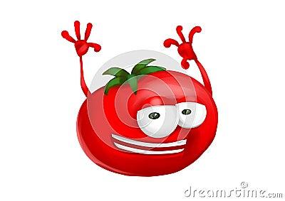Happy tomato