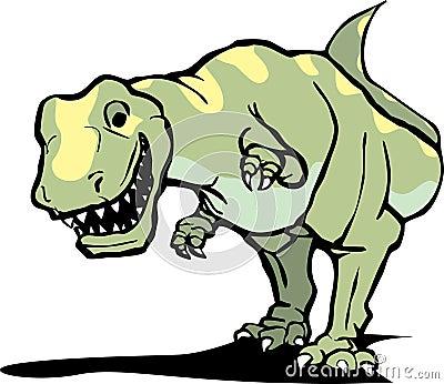 Happy Tyrannosaurus Rex