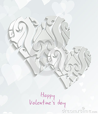 Happy valentine card