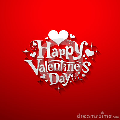 Free Happy Valentine Day Message Banner Royalty Free Stock Images - 28813589