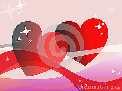 Happy Valentine`s Day Vector Illustration