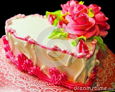Happy valentine s day cake