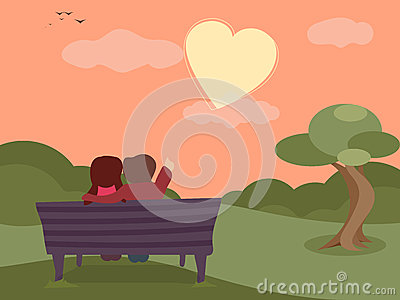 Happy Valentines Day celebrations with cute couple. Stock Photo