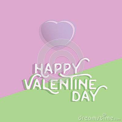 Free Happy Valentine`s Day Heart , Greeting Happy Valentine Day Holid Stock Photo - 108674470