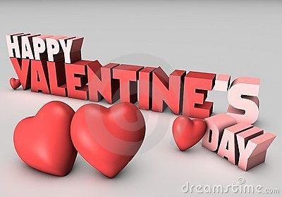 Happy Valentines Day 3D