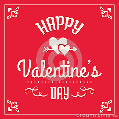 Free Happy Valentines Day Card Royalty Free Stock Image - 36858816