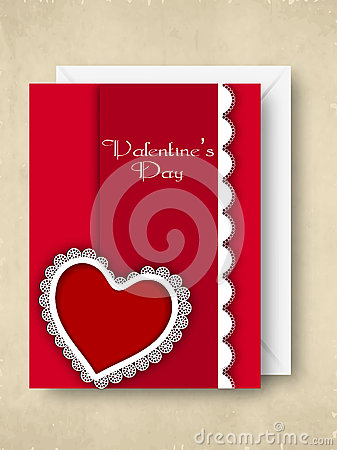 Happy Valentines Day greeting card, gift card or background.