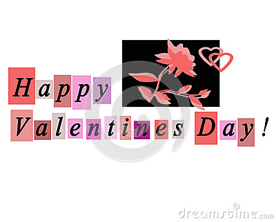 Happy Valentines Day Greeting Card Notecard