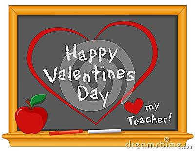 Happy Valentines Day, Love My Teacher