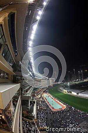 Happy Valley Racecourse, Hong Kong Editorial Stock Photo