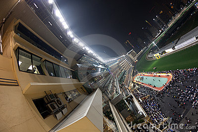 Happy Valley Racecourse, Hong Kong Editorial Image