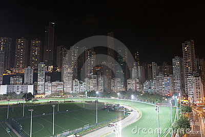 Happy Valley Racecourse, Hong Kong Editorial Stock Image