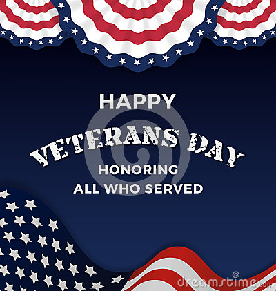 Free Happy Veterans Day Stock Images - 61132354