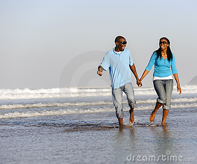 Happy Walking Couple Stock Photography - Image: 14907952