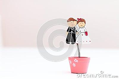 Happy weddings toys