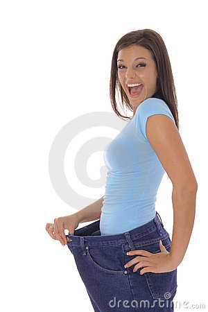 Free Happy Weight Loss Royalty Free Stock Image - 14754096