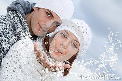 Happy winter people