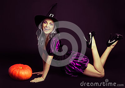 Happy witch