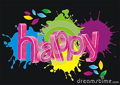 happy word: