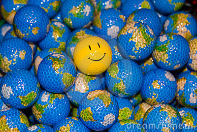 Happy World Golfballs