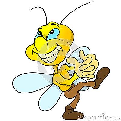 Happy Yellow Bug