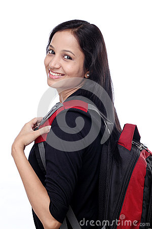 Free Happy Young Female Student Royalty Free Stock Photos - 34222178
