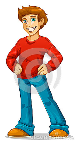 Free Happy Young Man Royalty Free Stock Photos - 35183678