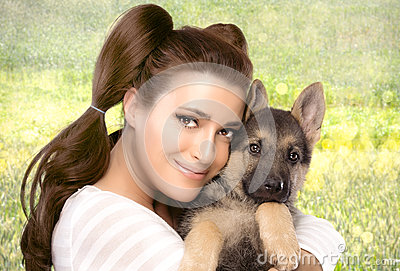 happy-young-woman-puppy-dog-beautiful-girl-tenderly-hugging-german-shepherd-cute-nature-portrait-isolated-white-40468056 Meet Women On line That Is Awesome - Let me provide How You Can Make your Chances