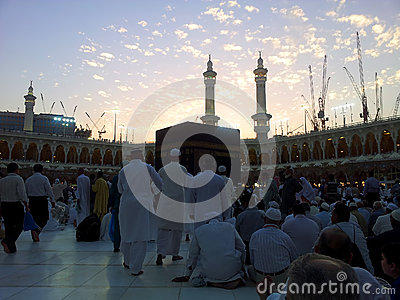Haram Mosque Editorial Image