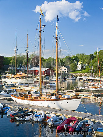 Harbor Boats, Camden Maine